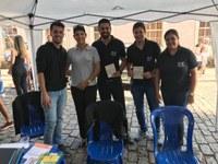 Procon Câmara marca presença na Praça da Matriz no Dia do Trabalhador com apoio da Unifenas